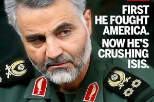 قاسم سلیمانی؛ او در حال له کردن داعش است