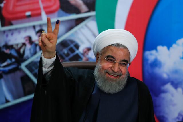 حسن روحانی دوباره رییس جمهور ایران شد