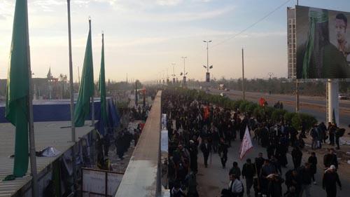 عکسهای اختصاصی داریون نما از زائران حسینی در مسیر نجف به کربلا