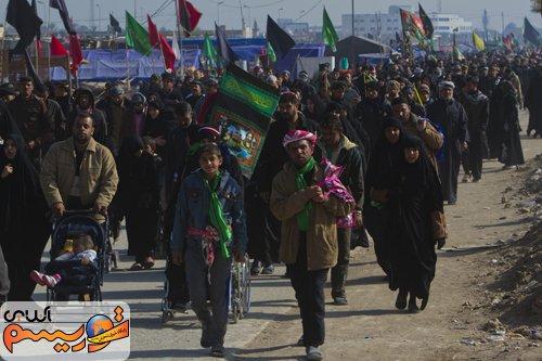 امروز اربعین؛۲۰میلیون زائر پای پیاده به استقبال قبله دل ها