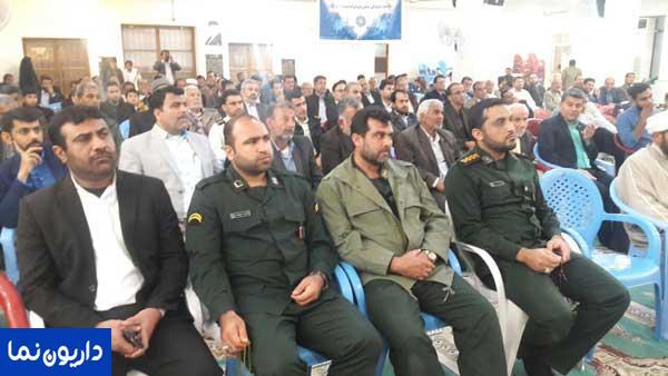 قدرشناسی با شکوه مردم آبدان از حجت الاسلام حمیدی نژاد/تصاویر