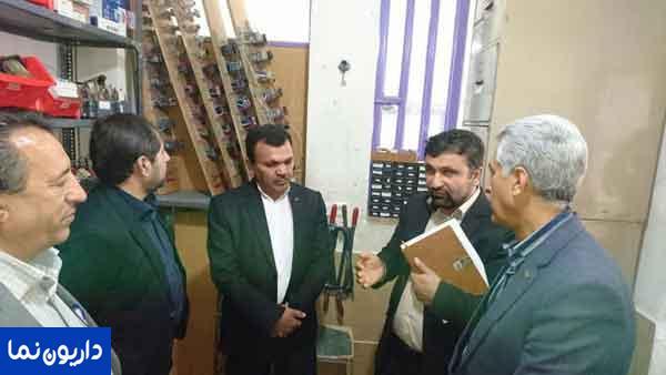 بازدید معاون آموزش متوسطه اداره کل آموزش و پروش استان فارس از دو مرکز آموزشی در داریون