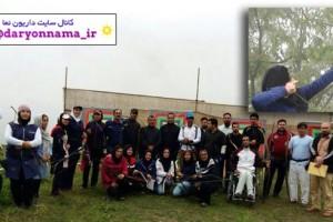 راهیابی بانوی داریونی به اردوی انتخابی تیم ملی تیروکمان سنتی کشور