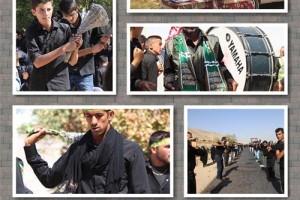 عاشورای ۹۵ در جوار امام زاده ابراهیم علیه السلام+تصاویر