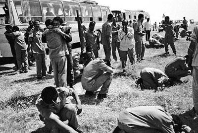 ۲۶ مرداد سالروز ورود آزادگان سرافزار به ایران اسلامی/با یادی از آزادگان داریونی