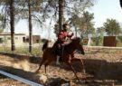 یک داریونی نفر اول مسابقات  هنرهای رزمی سواره استان فارس