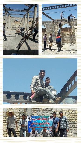 آغاز اردوی جهادی برای ساخت مسجد القائم «عج» داریون