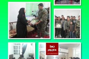 اخبار و تصاویری از فعالیت های بسیجیان داریونی