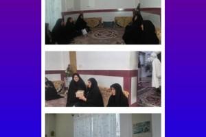 دیدار خواهران بسیجی منطقه داریون با خانواده های اهل تسنن+تصاویر