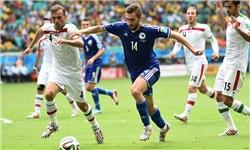 تیم ملی سرافرازانه حذف شد