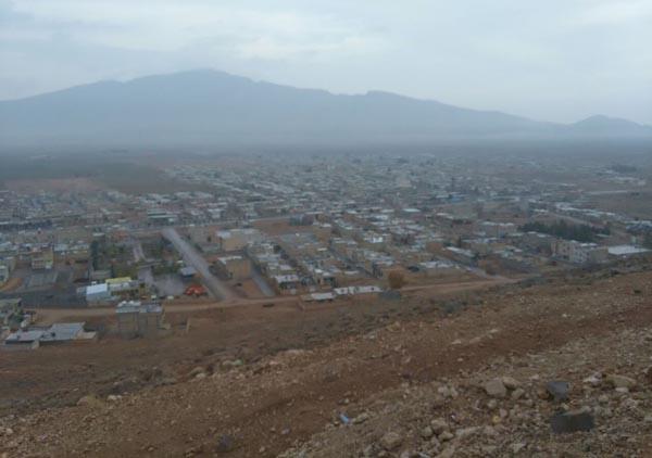 داریون صبح جمعه؛تپه نورالشهدا،قبل از باران دیروز…