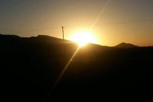 طلوع آفتاب در یک روز مرداد/۹۶+عکس