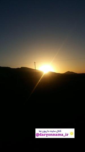 طلوع آفتاب در یک روز مرداد/96+عکس