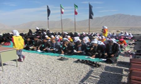 برگزاری مراسم زیارت عاشورا در جوار قبور شهدای گمنام