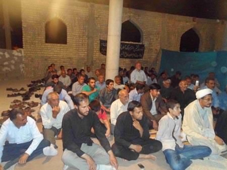 برگزاری مراسم عزاداری به مناسبت شهادت حضرت امام جعفر صادق علیه السلام