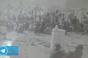 عکسی قدیمی از امام زاده ابراهیم علیه السلام