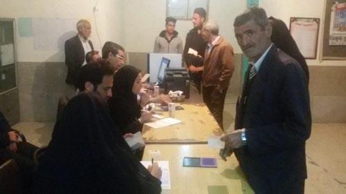 اعلام نتایج کامل آرای همه کاندیداهای شورای شهر داریون از طرف فرمانداری شیراز