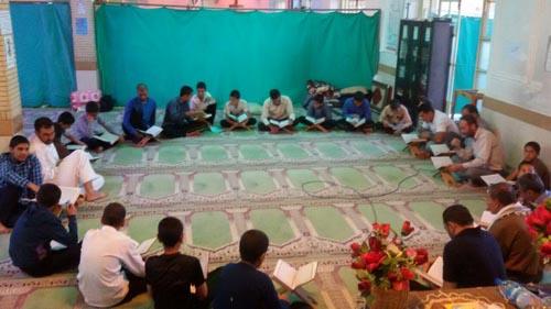 برگزاری مراسم اعتکاف در منطقه داریون+تصاویر