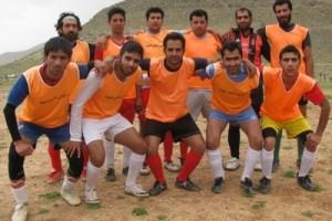 تیم فوتبال شهدای دودج برابر عرشیا دیندارلو به برتری دست یافت
