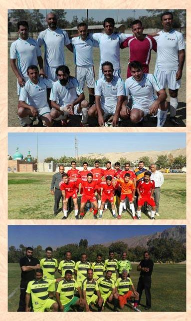 نتایج بازی های دوستانه تیم های فوتبال منطقه داریون