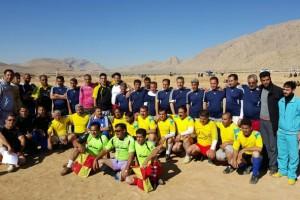 تصاویر:مسابقه فوتبال پیشکسوتان تربر جعفری با طعم دید و بازدید رفقای قدیمی