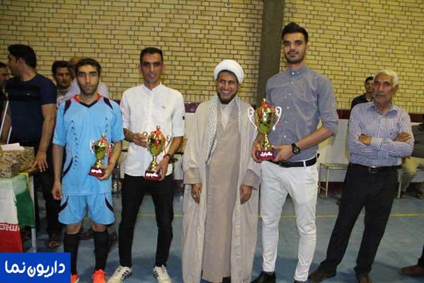 تیم های برتر مسابقات فوتسال جام رمضان منطقه داریون شناخته شدند/تصاویر