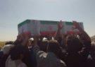 پیکر جانباز ۸ سال دفاع مقدس در دودج تشییع و به خاک سپرده شد