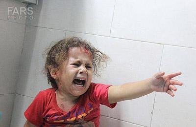 مظلومیت کودک آواره فلسطینی را چگونه فریاد می زنیم ؟