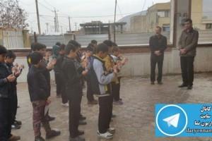 حرکت ارزشمند دانش آموزان داریونی در ایستگاه آتش نشانی داریون+عکس