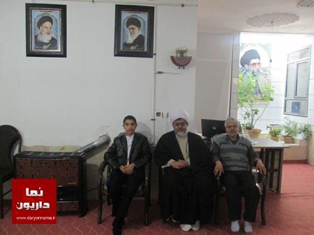 یادی از اولین امام جمعه داریون+عکس