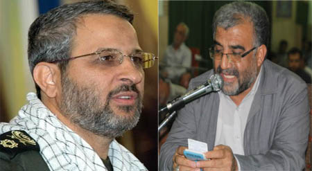 سردار غیب پرور و حاج کاظم محمدی برای یادواره شهدا به داریون می آیند