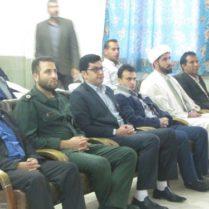 بزرگداشت دهه مبارک فجر در دبیرستان امام حسین ع داریون