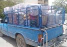 ارسال مرحله سوم کمکهای مردمی منطقه داریون به سیل زدگان جنوب کشور