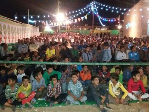 جشن با شکوه نیمه شعبان در تربر جعفری برگزار شد+تصاویر