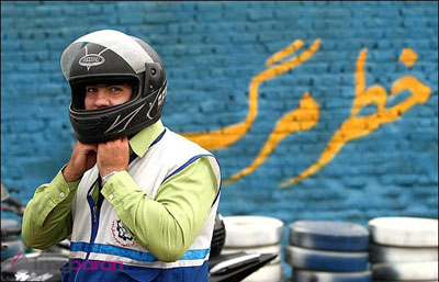 پياده رو بولوار كشاورز داريون اتوبان موتورسواران؟!