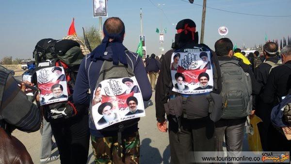 تصاویر:حاشیه های پیاده روی اربعین در عراق