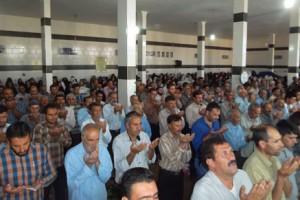 برگزاری نماز عید سعید فطر در تربر جعفری