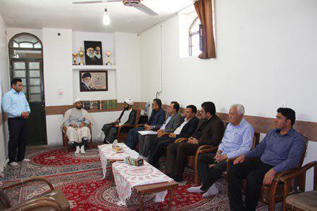 برگزاری جلسه ستاد نامگذاری معابر در دفتر امام جمعه منطقه داریون