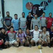 پیروزی تیم والیبال امید دودج برابر کوه خیاره خرامه