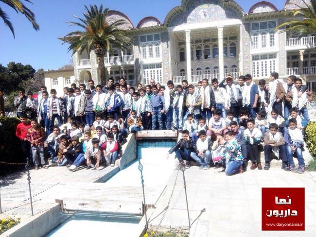 اردوی تربیتی-تفریحی پایگاه مقاومت و کانون مسجد امام محمد تقی (ع) داریون