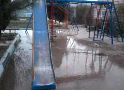 """فیلم:"""" پارک آبی داریون""""!/ آقای شهردار جلو اسراف آب را بگیر"""