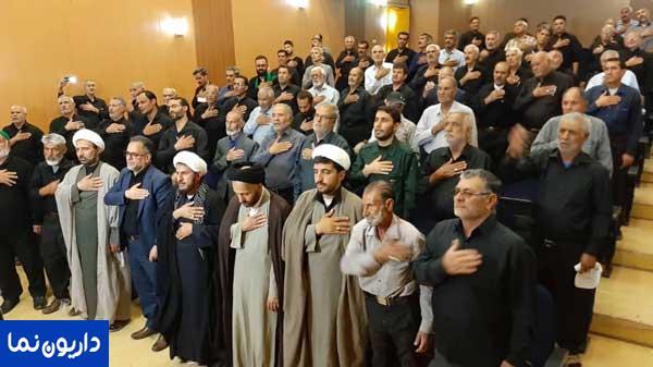 همایش بزرگ پیرغلامان و خادمان حسینی (ع) منطقه داریون برگزار شد/تصاویر