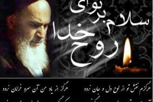 به مناسبت سالگرد رحلت جانگداز امام خمینی (ره)/اندر فراق خورشید…