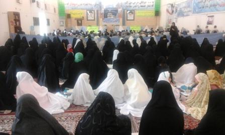 گزارشی از عملکرد حوزه بسیج خواهران منطقه داریون