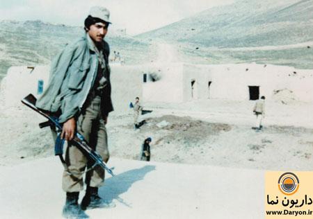 با شهدای منطقه داریون سرباز شهید غلامرضا زارع
