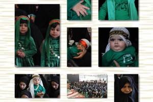 برگزاری مراسم شیرخوارگان حسینی در منطقه داریون+تصاویر