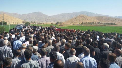 تشییع شهدای حادثه تروریستی ناصریه عراق در کوشک مولا+تصاویر