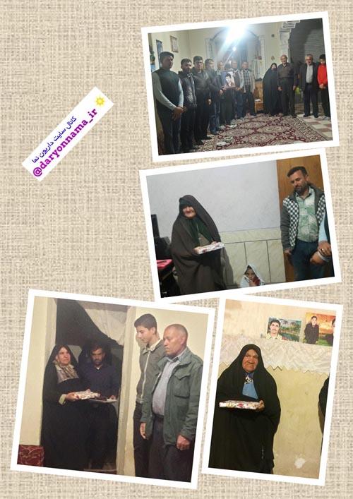 دیدار اعضای پایگاه مقاومت بسیج شهید سید مصطفی خمینی با جمعی از مادران شهدا