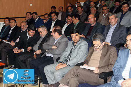 برگزاری جلسه شورای اداری شهرستان شیراز در  داریون+تصاویر