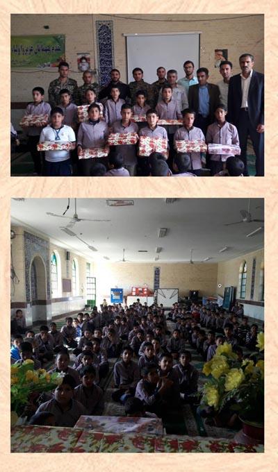 تجلیل از حضور فعال نوجوانان  در نماز جمعه و جماعات